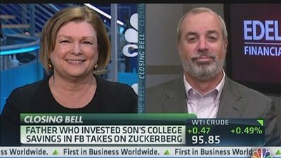 Father Lost Son's College Savings In FB
