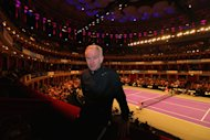 LONDON, ENGLAND - DECEMBER 05: John McEnroe poses for a portrait on day two of the Statoil Masters Tennis at the Royal Albert Hall on December 5, 2013 in London, England. (Photo by Clive Rose/Getty Images)