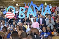 <p>Supporters greet US President Barack Obama as he arrives at a campaign event July 13, in Hampton, Virginia. Obama's tour through rural and urban Virginia follows visits to other key battlegrounds Ohio, Pennsylvania and Iowa.</p>
