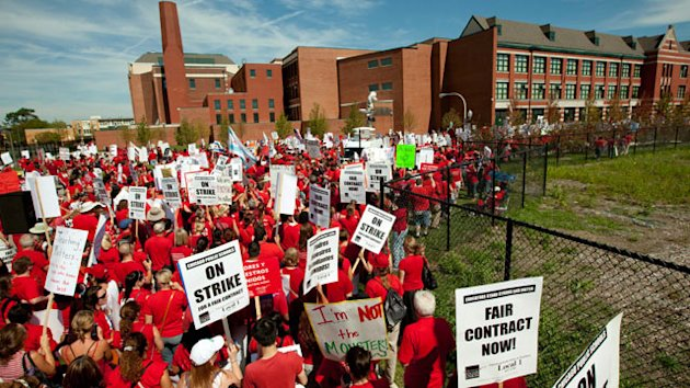 Chicago Teachers Union Won't Vote on Contract Deal; Strike Continues (ABC News)
