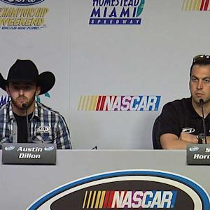 Dillon, Hornish talk about finishing strong