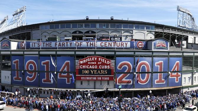 Cubs lose to Diamondbacks 7-5 on Wrigley's 100th