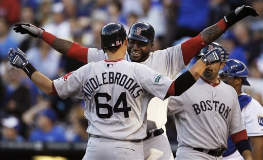 Middlebrooks powers Red Sox to 11-5 win at Royals