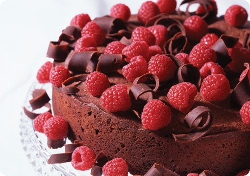 Decadent Chocolate Raspberry Cheesecake