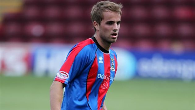 Andrew Shinnie was on target for Inverness