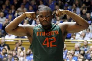 Johnson leads Miami past No. 7 Duke 78-74 in OT