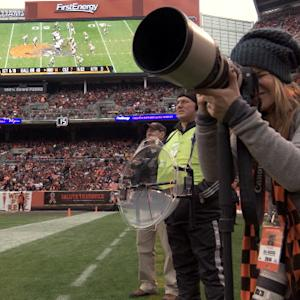 NFL Rush: The superwomen of Cleveland