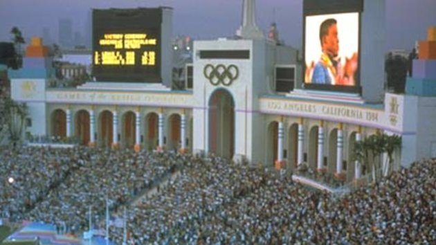 OLYMPIC GAMES 1984 los angeles