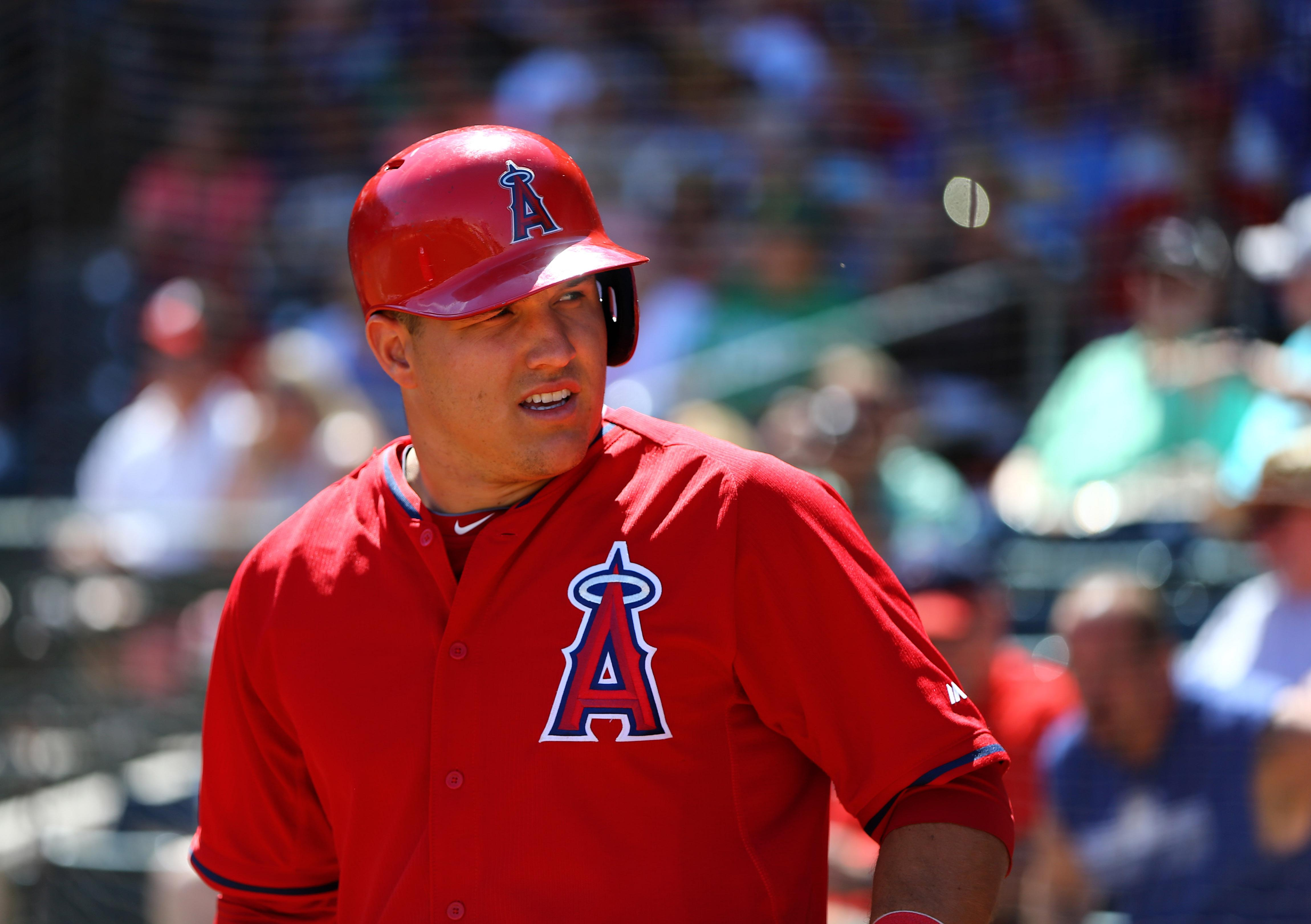 Mike Trout robs a homer and hits a homer in big spring performance