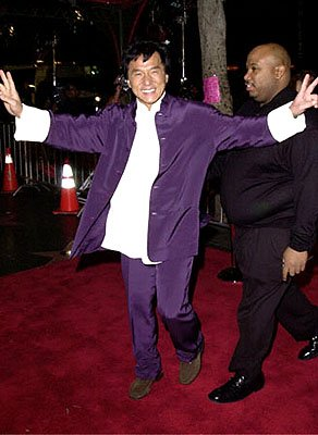 Jackie Chan at the Hollywood premiere of Universal's The Family Man