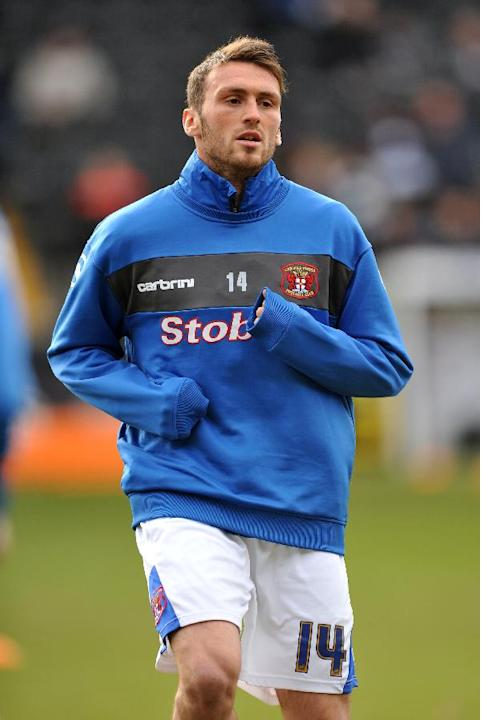 Carlisle striker Lee Miller scored the game's only goal