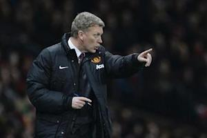 Manchester United's manager Moyes gestures during their English League Cup semi-final second leg soccer match against Sunderland at Old Trafford in Manchester, northern England
