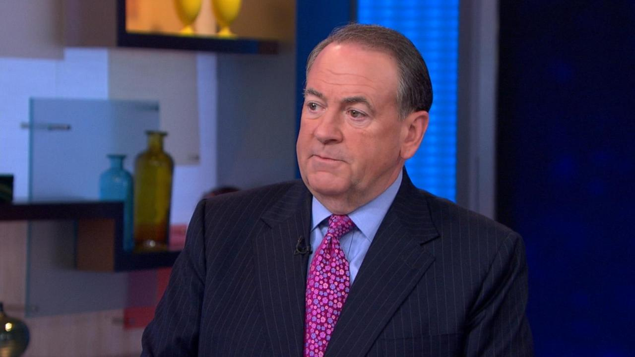 Mike Huckabee Describes His 2016 Presidential Campaign Live on 'GMA'