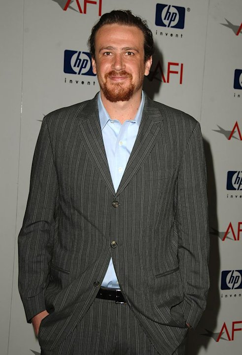 Jason Segel arrives at the 2008 AFI Luncheon held at the Four Seasons Hotel. -  January 11, 2008