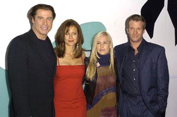 John Travolta , Kelly Preston , Patricia Arquette and Thomas Jane at the L.A. premiere of Artisan's The Punisher