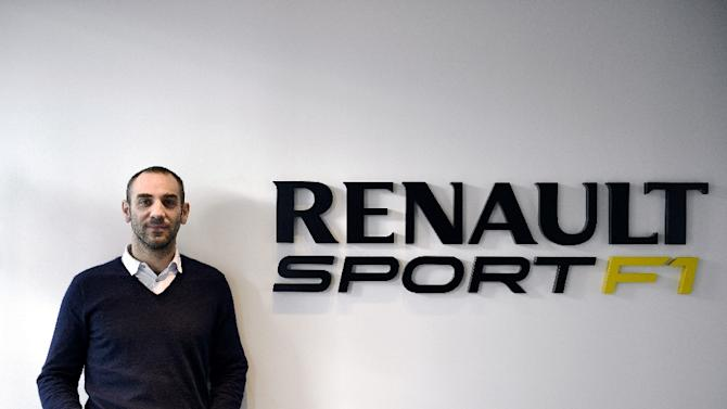 Managing Director Cyril Abiteboul, pictured here in December, said Renault was considering its options, including leaving Formula One