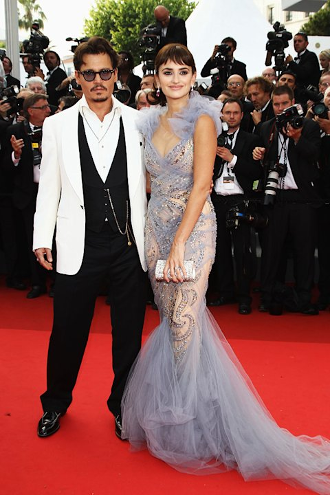 Cannes Film Festival 2011 Johnny Depp Penelope Cruz