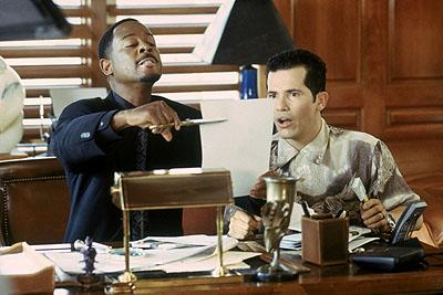 Martin Lawrence and John Leguizamo in MGM's What's The Worst That Could Happen