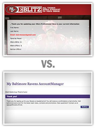 The 49ers vs. The Ravens: Who Wins The Email Super Bowl? image thirdquarter