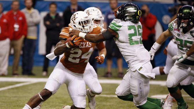 NCAA Football: Alamo Bowl-Oregon vs Texas
