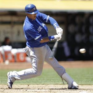 Blue Jays beat A's 6-5 for 4-game split
