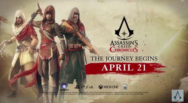 Assassin's Creed 2.5D Spinoffs Heading to China, India, Russia
