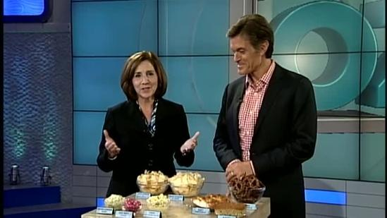 Dr. Oz evaluates foods of Susquehanna Valley