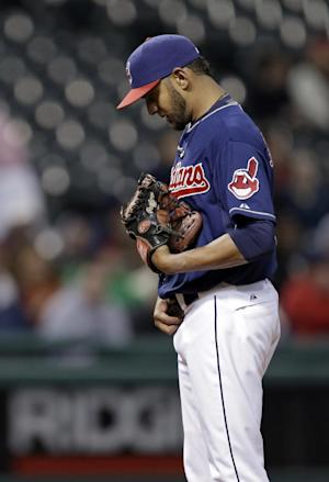Indians don't think Salazar is tipping pitches