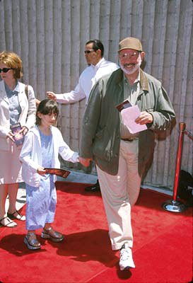 Brian De Palma and family at the Westwood premiere of 20th Century Fox's Star Wars: Episode I