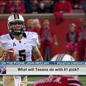 John McClain discusses Houston Texans' quarterback options