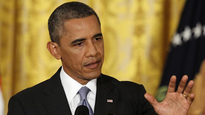 Obama says he has range of candidates to lead Fed