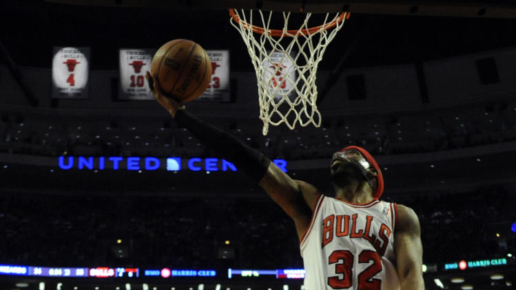 NBA: Washington Wizards at Chicago Bulls