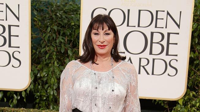 70th Annual Golden Globe Awards - Arrivals: Anjelica Huston