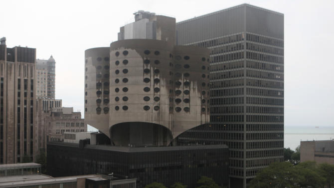 Prentice Women's Hospital is seen Wednesday, June 15, 2011 in Chicago. The concrete, cloverleaf-shaped building was named Wednesday, June 15, 2011 to the list of America's 11 Most Endangered Historic Places by the The National Trust for Historic Preservation.  It is perhaps the list's most endangered site, National Trust President Stephanie Meeks said.  (AP Photo/Kiichiro Sato)