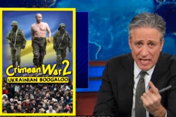 Jon Stewart: Fox News Pundits Seem Way Too Into Putin (Video)