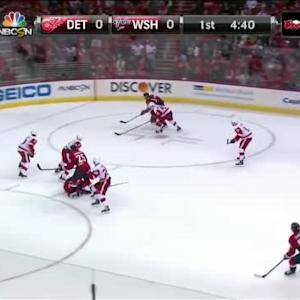 Jimmy Howard Save on Jay Beagle (15:21/1st)