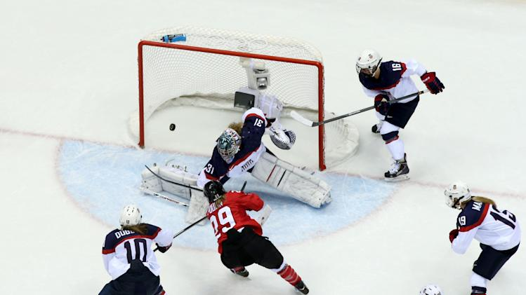 Ice Hockey - Winter Olympics Day 13 - Canada v United States