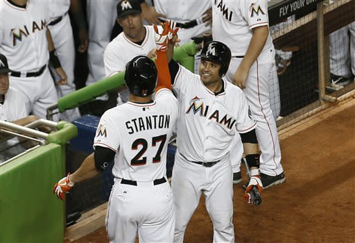 Turner pitches Marlins past Padres, 7-1