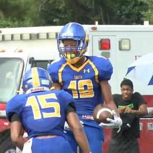 Oscar Smith (VA) - Shon Mitchell TD Pass
