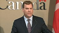 Foreign Affairs Minister John Baird announced expanded sanctions against the Syrian regime Friday in Toronto.