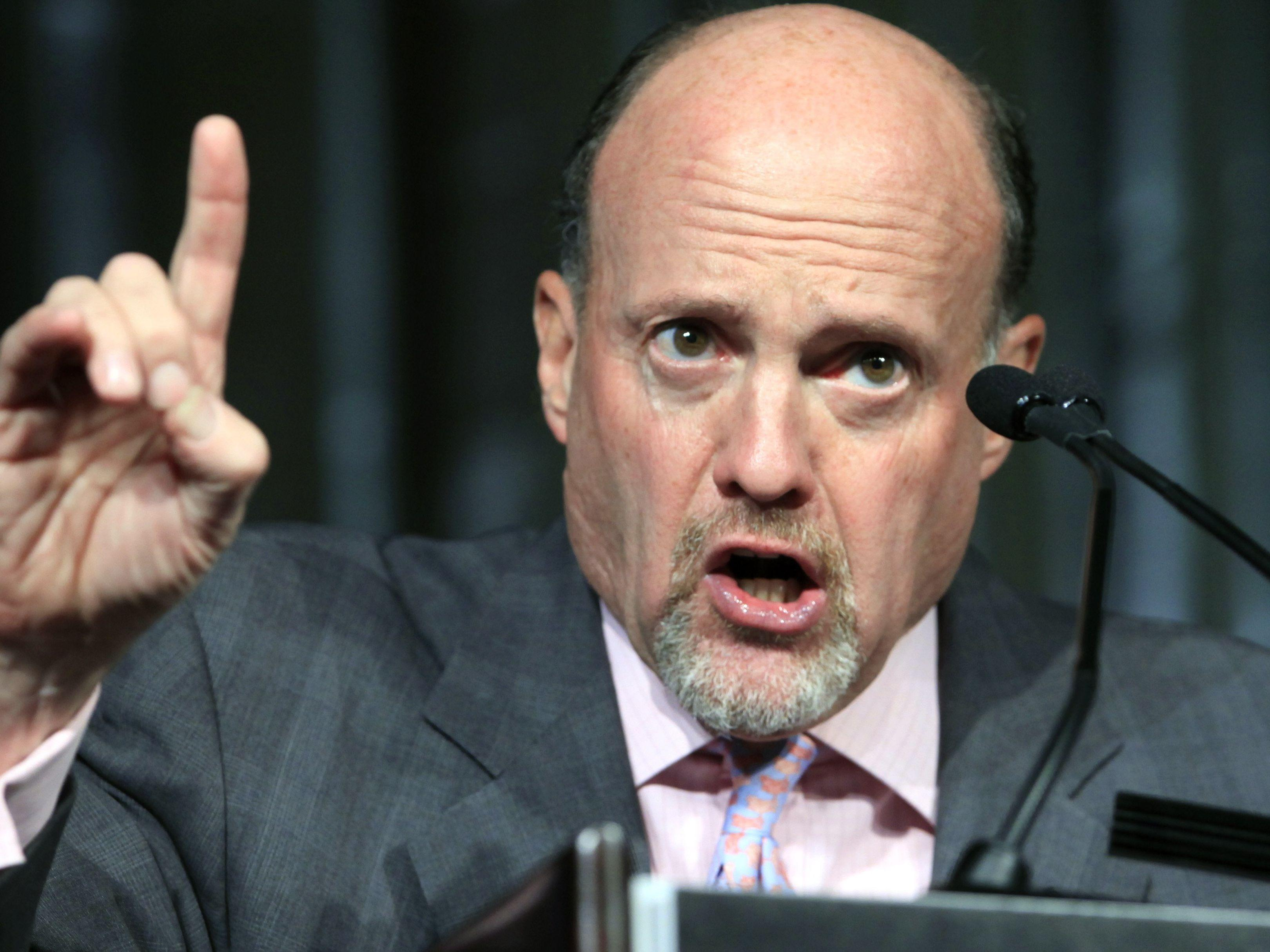 Here's where Jim Cramer says young people should invest their first $10,000
