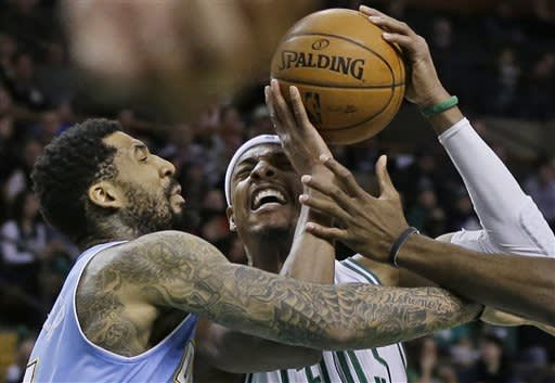 Celtics outlast Nuggets in 3 OTs with 118-114 win