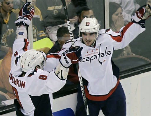 Caps stay in playoff hunt, beat Boston 3-2 in SO