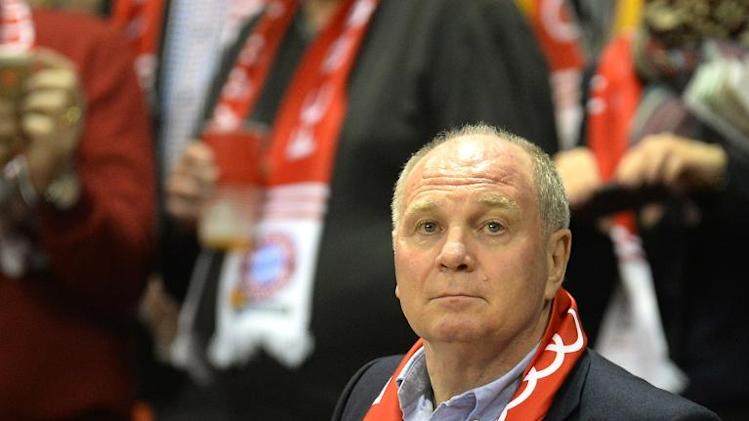 Bayern Munich boss Uli Hoeness, pictured in Munich on January 30, 2014, will face a tax evasion trial, accused of having stashed away millions in Switzerland
