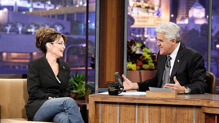 Palin Leno Tonight Show