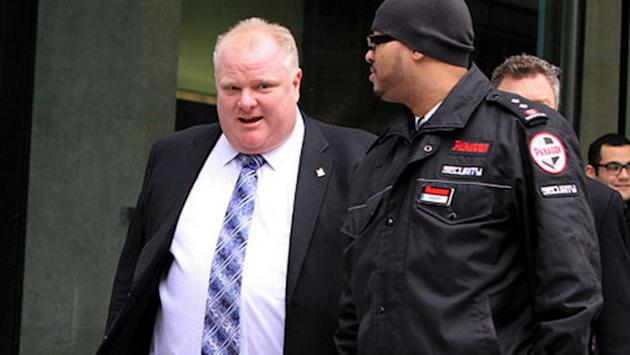 Toronto Mayor Rob Ford 'thankful'