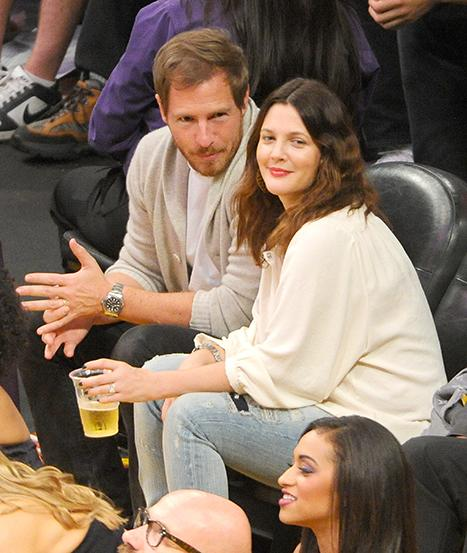 New Mom Drew Barrymore Rocks Skinny Jeans During Basketball Game Date Night with Will Kopelman
