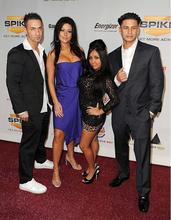 Jersey Shore Cast Spike Aw