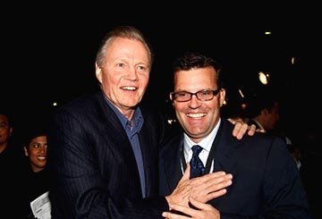 Jon Voight and Chad Oman at the LA premiere of Touchstone's National Treasure