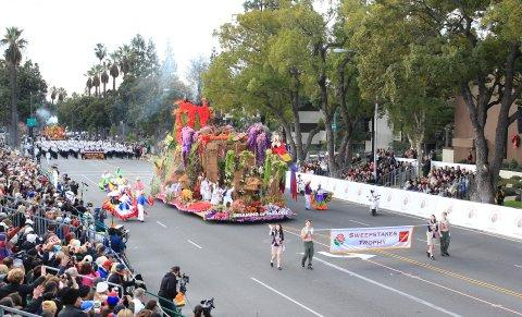 Dole® Rose Parade Float Announced Three-Peat Sweepstakes Winner